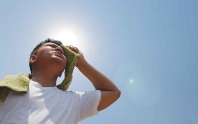Признаки солнечного удара у детей