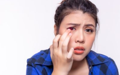 Eye irritation, its causes and symptoms